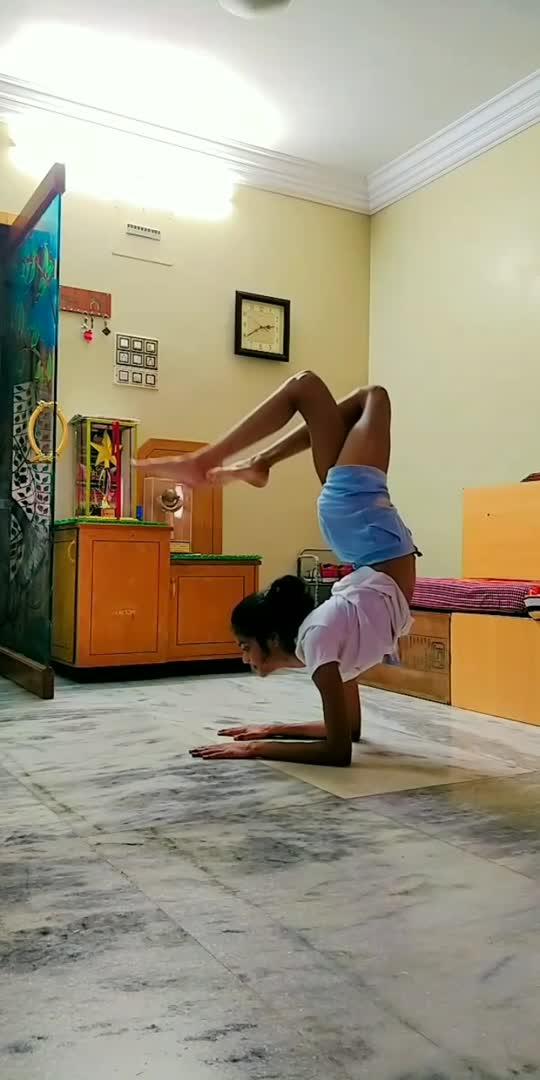 Deva Shree Ganesha🙏❤️ #ganeshchaturthi #yoga #ganeshutsav #yogini #balance #yogalifestyle