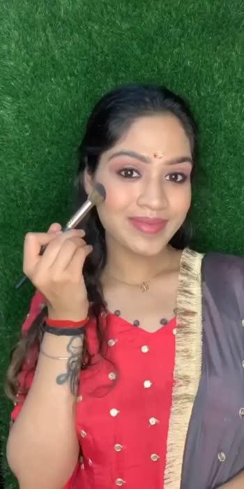 Inauguration Day Look 💓 #makeoverwithmansi #viralvideo #makeup #makeupartist #makeupbyme #hisar #haryana #freelance #indianweeding #makeover #daily