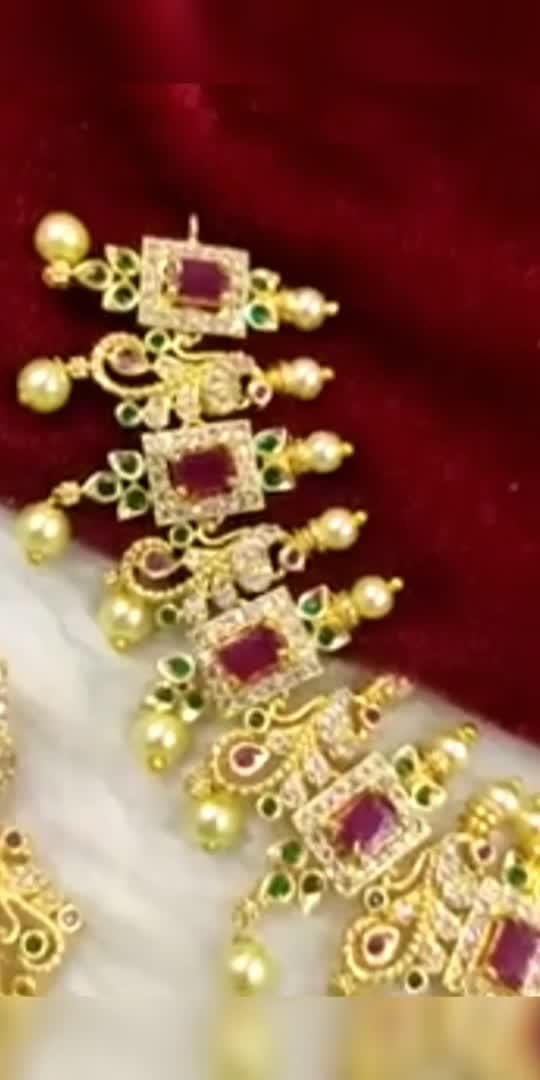 Latest Bridal jewelry #bridal #bridaljewelry #lookgoodfeelgoodchannel #jewellery
