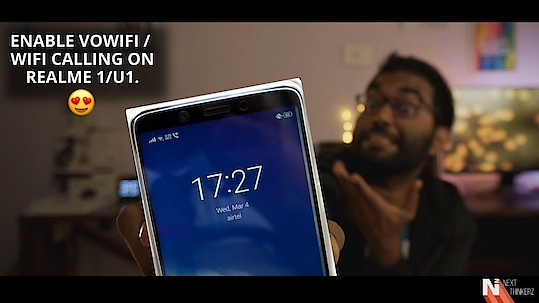 Do you know that recently RealMe released a new OTA update to their oldest device - the RealMe 1. This update enables WiFi Calling and Swipe Based Gesture Navigation on the phone. However, the Android Version is not...   Video Link: https://lnkd.in/f7K-5kD   #Realme1 #Wificalling
