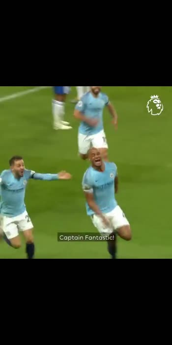 Vincent kompany's stunner against Leicester City in may 2019. #vincent #manchestercity #rocket#captain #premierleague#stunner#basanti#football #sports